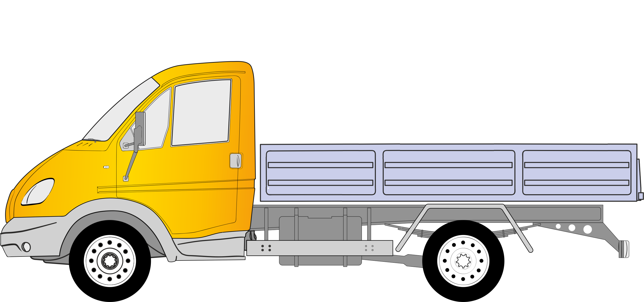 Рисунок газели машины для визитки